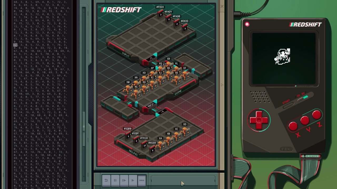 Exapunks players remake Asteroids | Rock Paper Shotgun