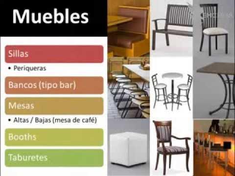 Mesas y sillas para restaurante guia facil youtube - Mesas de cocina economicas ...