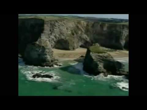 Arial View Of Newquay Coastline.. Stay At  www.fistralview.com