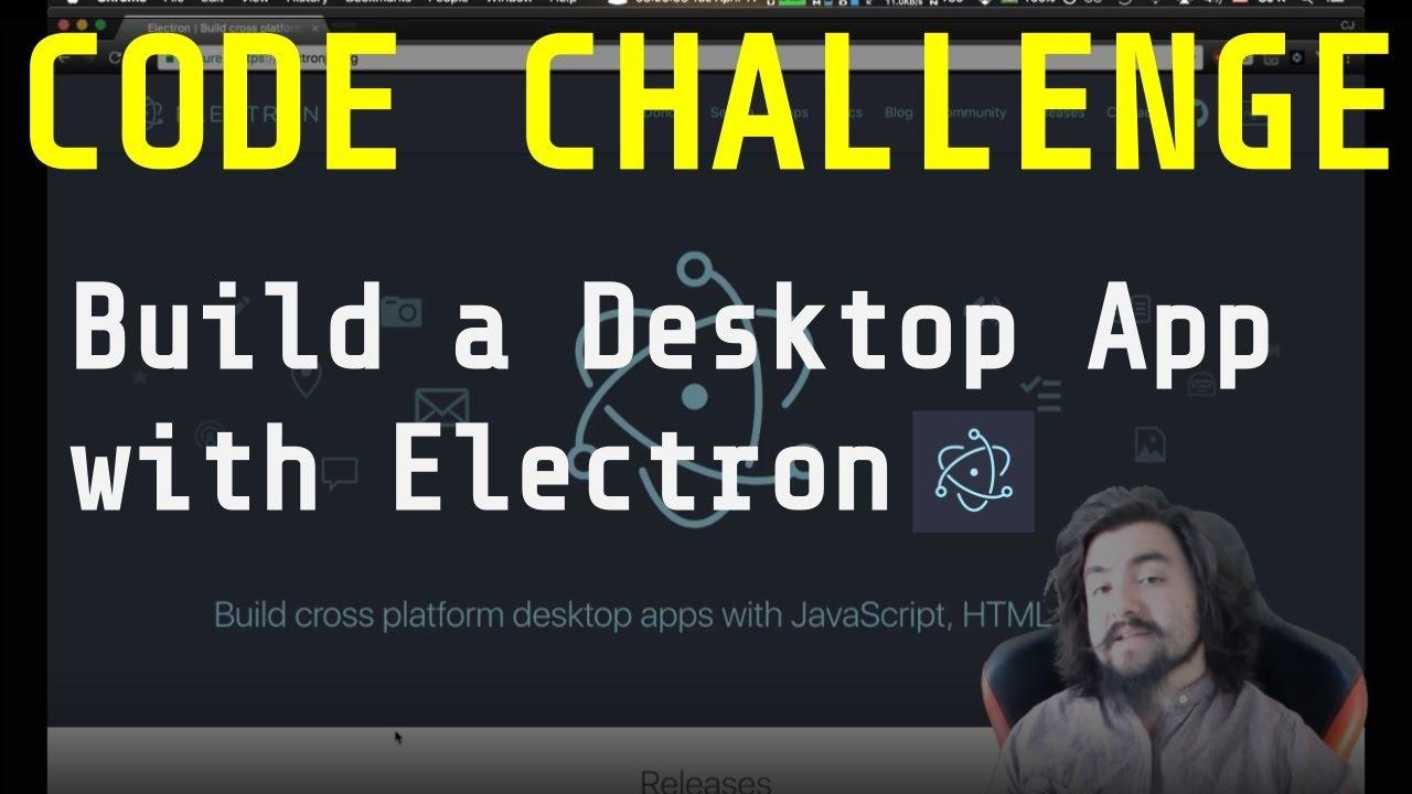Download Code Challenge: Build a Desktop App with Electron - Desktop Presenter
