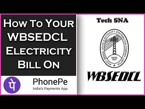 How To Pay Your WBSEDCL Electricity Bill on Phonepe Apps - Tech SNA