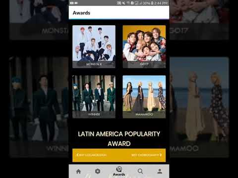 Voting TWICE in 14th Annual Soompi Awards