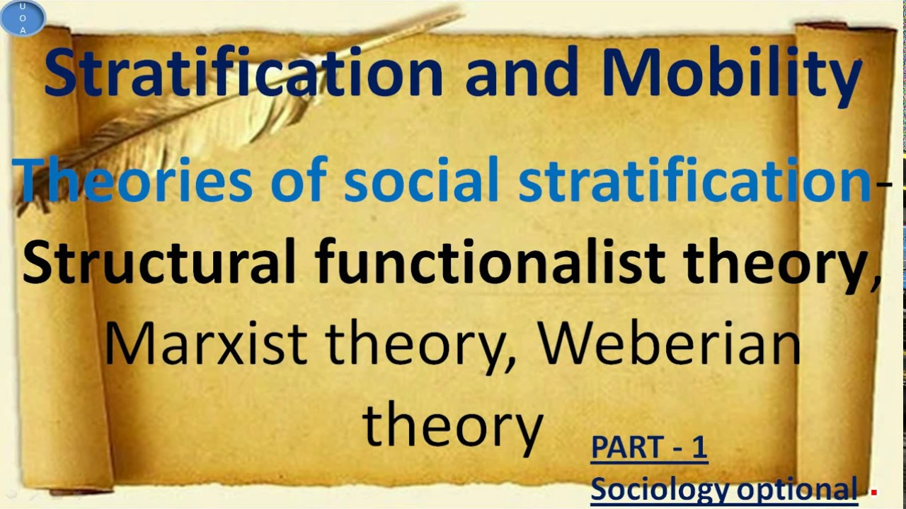 the theory of stratification Gender stratification refers to the social ranking  blumberg, rae lesser 1984 a general theory of gender stratification sociological theory 2:23–101.