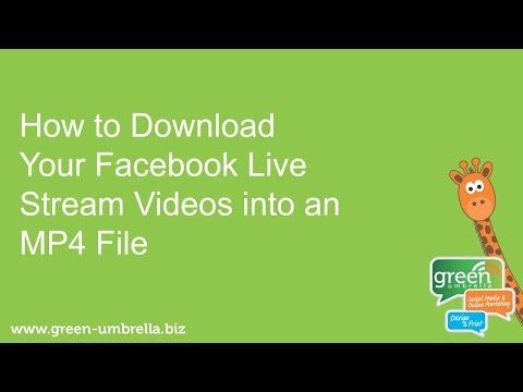How to Download Facebook Live Stream Videos into MP4 Files
