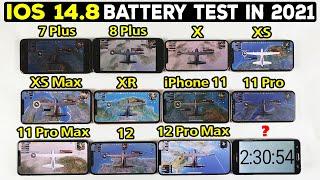 iPhone Battery Test 2021 - 7 Plus, 8 Plus, X, XS, XS Max, XR, 11, 11 Pro, 11 Pro Max, 12, 12 Pro Max