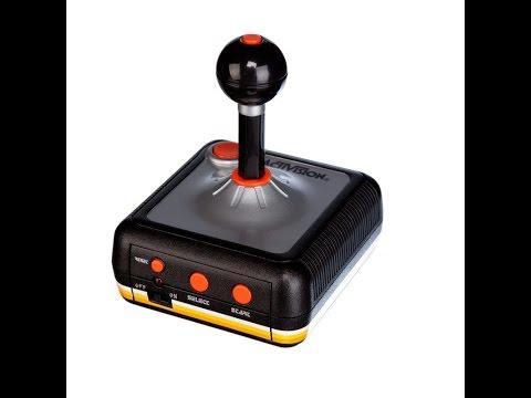 Unboxing Activision 10 Original Atari Spiele im Joystick für TV Plug & Play inkl Pitfall