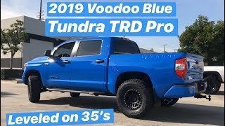 2019 Tundra TRD Pro Voodoo Blue BMC for 35's