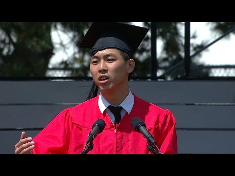 Seung-joon Lee: BU 2015 Commencement Student Speaker