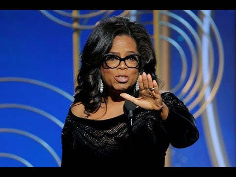 Oprah's moving speech to women dominates the 2018 Golden Globe Awards