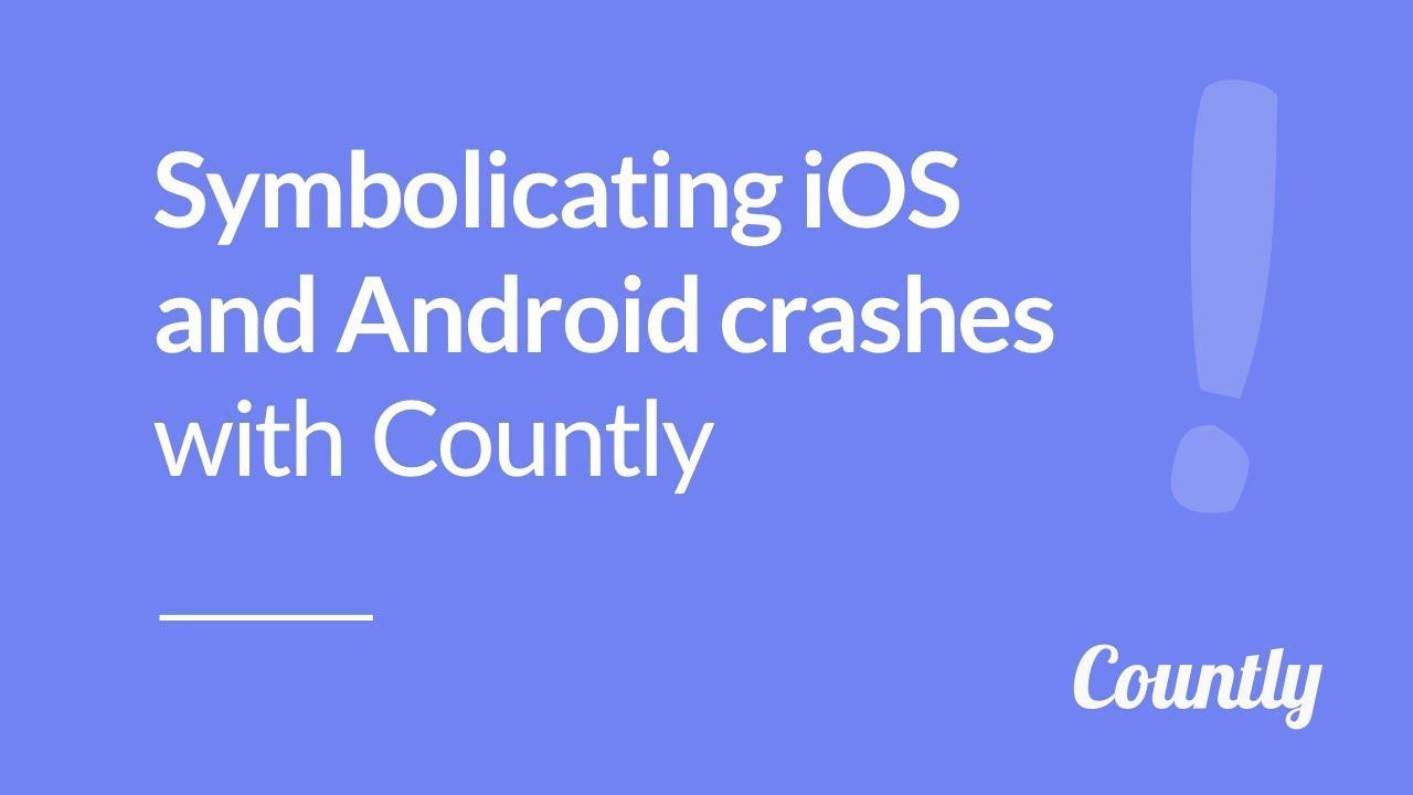 Crash symbolication