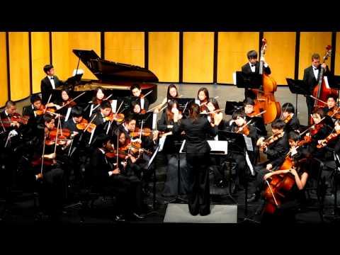Northwood High School Concert Orchestra - Symphony No. 8 in G Major Finale Antonin Dvorak