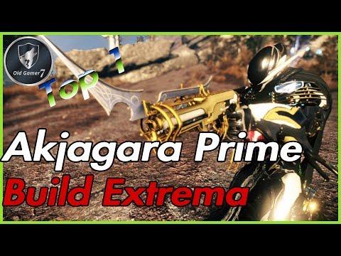 Warframe 2019 Akjagara Prime Build Extrema   TOP 1 de secundaria y es moouy linda 😂😉😎 thumbnail