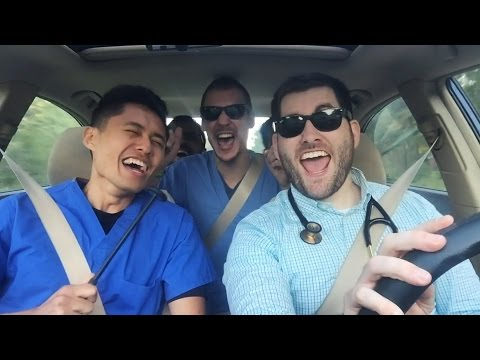 """Intern Carpool Karaoke and Can't Stop the Healing [""""Can't Stop the Feeling"""" Med Parody]"""