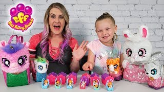 Opening BFF Blind Boxes and Best Furry Friends Toy Plushies!!!