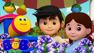 Lavender's Blue | Bob The Train | Trains Videos | kids tv nursery rhymes | cartoon