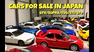 HUGE JDM Collection! Cars for Sale in Japan Part 19