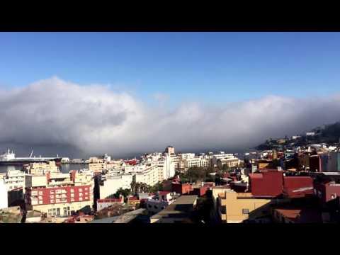 Taró en Ceuta en timelapse