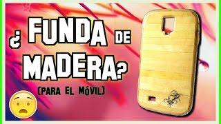 Cómo hacer una funda para el celular con ¿Madera? (Real) | Pablo Inventos