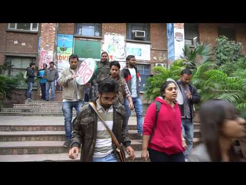 JNU students are saying a boycott of compulsory attendance