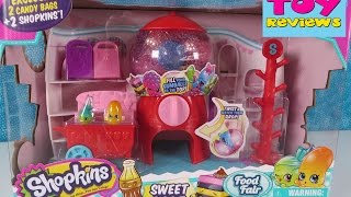 Shopkins Sweet Spot Food Fair Toy Review Unboxing | Surprise Toys | PSToyReviews