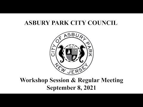 Asbury Park City Council Meeting - September 8, 2021