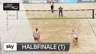 1.Frauen-Halbfinale | Komplett | Timmendorfer Strand–Deutsche smart Beach-Volleyball Meisterschaften