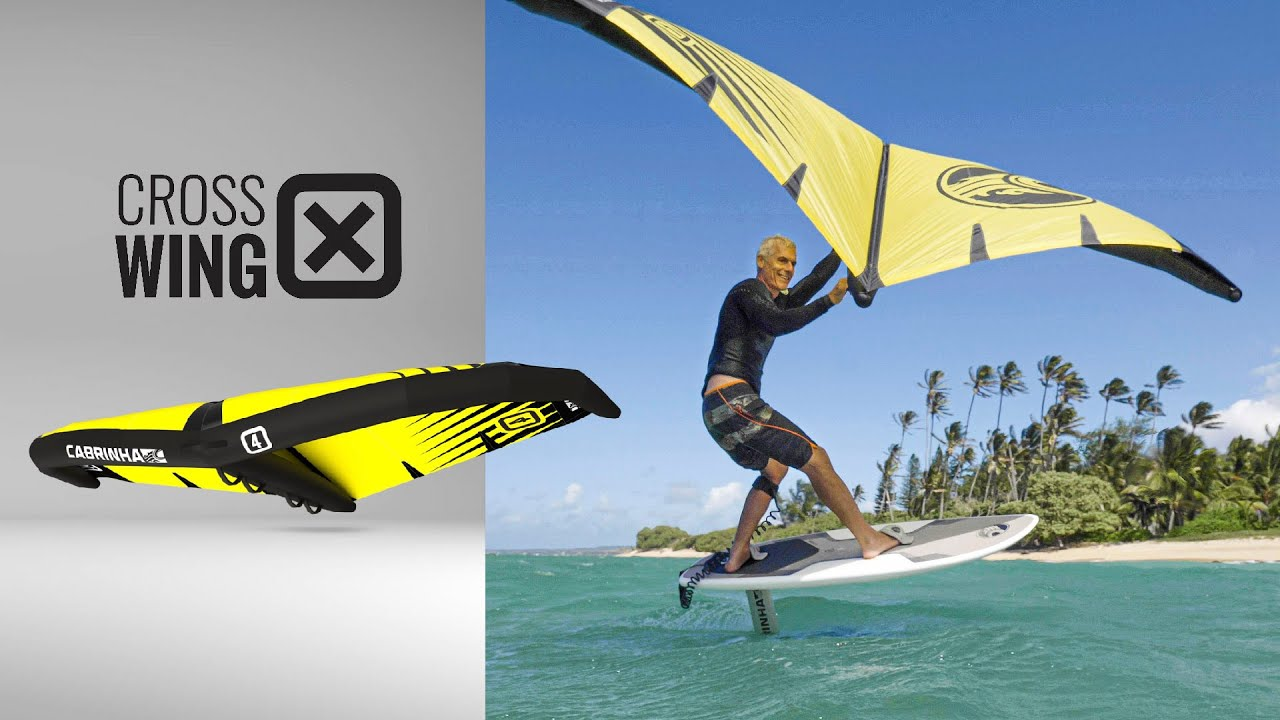 The Cabrinha Crosswing (Surf / Foil / SUP Wing)