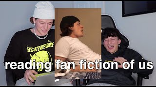 reading fan fiction stories of us
