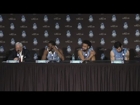 UNC Men's Basketball: Duke Postgame Press Conference - ACC Tournament