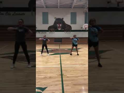 Lecanto Middle School Cheer 18-19 tryout dance