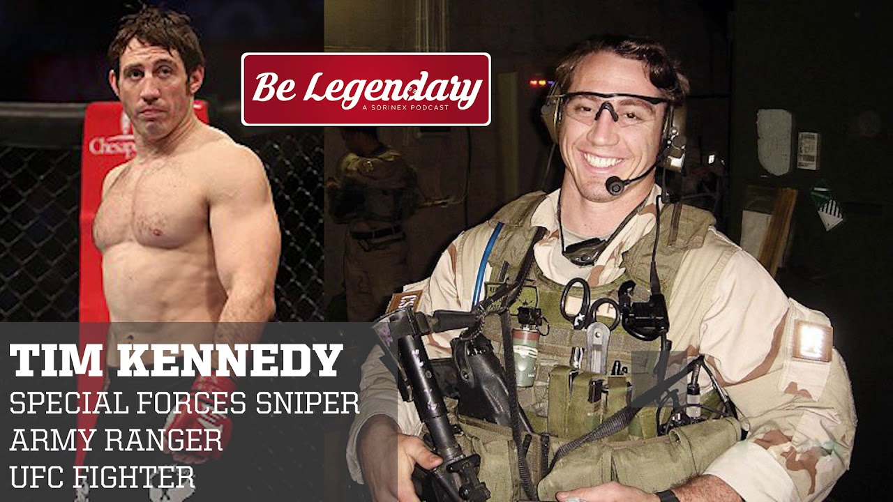 35 Tim Kennedy Special Forces Sniper Army Ranger Youtube