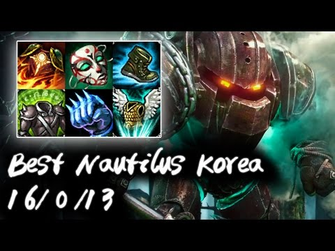 Best Nautilus Korea + China vs Rumble | Too Tanky | Korea High Elo