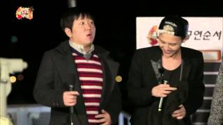 [ENG SUB] Infinite Challenge Song Festival - Harmony of GD and breathless rapper Hyungdon 20131019