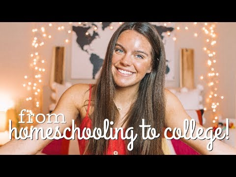 From Homeschooling to College! My Experience, Major, & Advice!