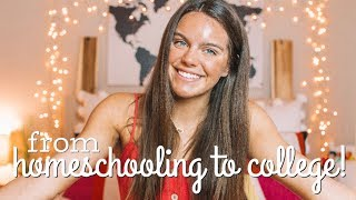 from homeschooling to college my experience major advice