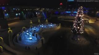 Новогодний Саратов. Театральная площадь.