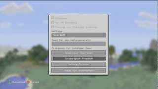Minecraft Xbox 360 Edition : Maps downloaden und installieren [GERMAN]