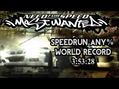 NFS Most Wanted any% Speedrun - World Record 3:53:28