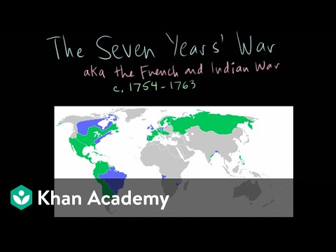 The Seven Years' War part 1