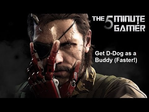 Metal Gear Solid V: The Phantom Pain - Get D-Dog as a Buddy Faster