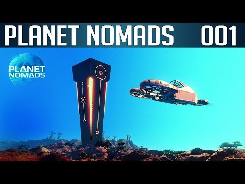 PLANET NOMADS #01 | Auf zu den Sternen | Let's Play Gameplay Deutsch