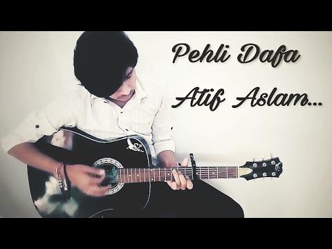 Pehli Dafa | Atif Aslam | Easy guitar lesson,open chords(capo version)for beginners.VROCKS16