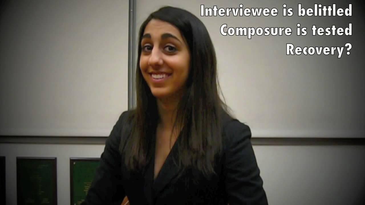 stress interviews stress interviews