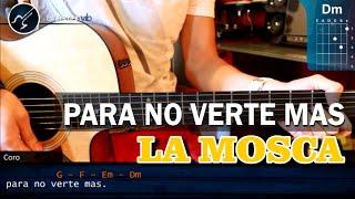 """Cómo tocar """"Para No Verte Más"""" de La Mosca en Guitarra Acústica (HD) Tutorial Acordes - Christianvib"""
