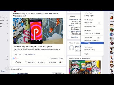 How to protect your data on Facebook