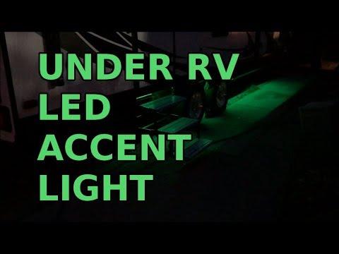 led accent lighting under travel trailer