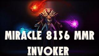 TOP 1 MMR Miracle Invoker - Ranked Gameplay Dota 2