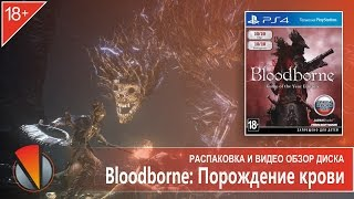 Bloodborne: Порождение крови. Game of the Year Edition (PS4, PlayStation 4). Распаковка издания.