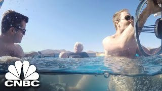 Jay Leno Takes A Ride In The Fastest Hot Tub On Wheels | Jay Leno's Garage | CNBC Prime