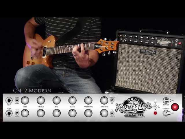 MESA/Boogie Recto-Verb 25 Ch. 2 MODERN – Early Metal